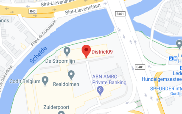 District09 op de kaart aangeduid